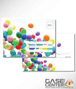 Wettflugkarten Luftballons