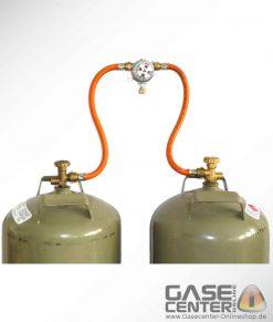 Zweiflaschenanlage Multimatik 50 und 30 mbar